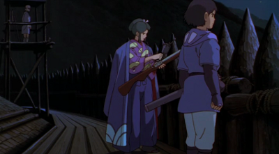 A still from Princess Mononoke (1997). The conversation