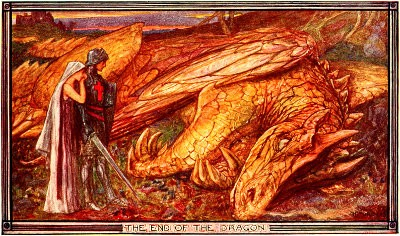 'The End of the Dragon' av Henry Justice Ford.
